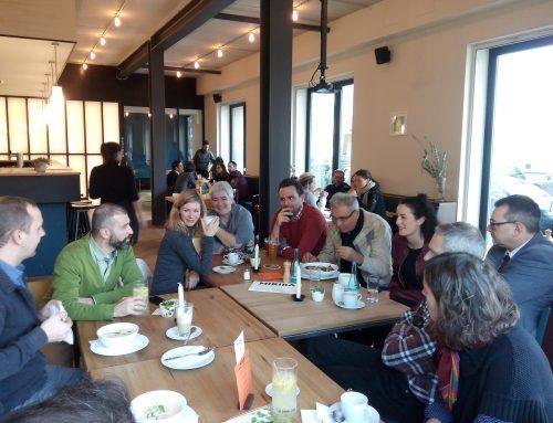 Kiez-Netzwerk Lunches: Austausch zum Mittagessen