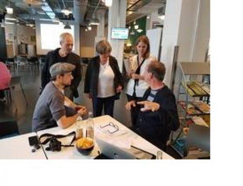 Senatorin Lompscher besucht das Kiez-Netzwerk